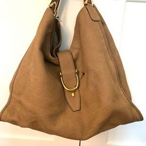 Gucci Soft Stirrup Nubuck Shoulder Bag